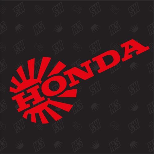 Honda Logo Redsun - Sticker