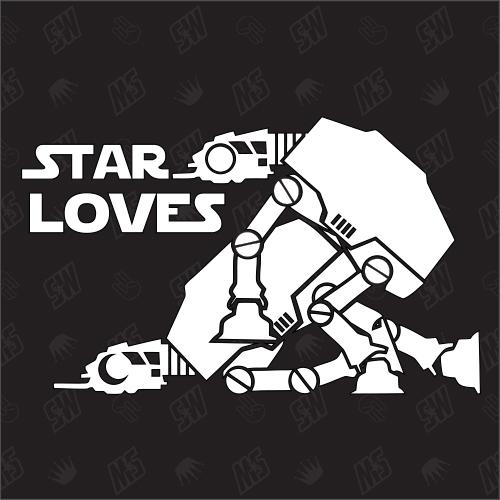 Star Loves - Star Wars Sticker, AT-AT Sex