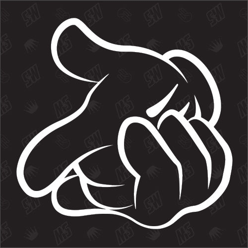 Killin Mickey Hands - Sticker