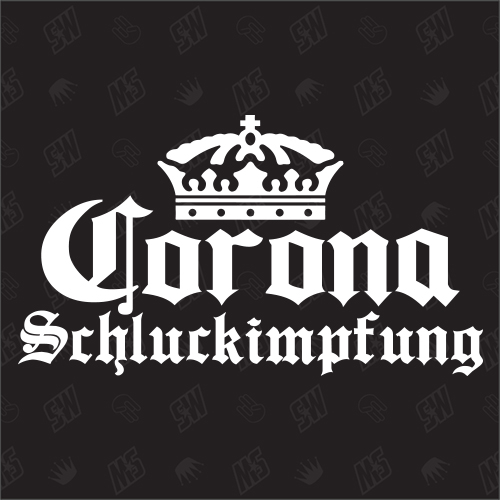 Corona Schluckimpfung - Sticker