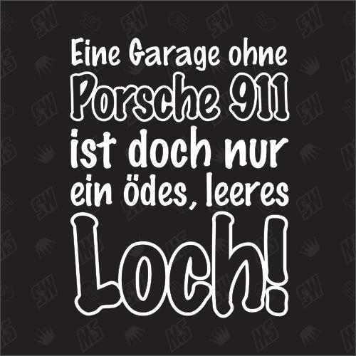 Walter Röhrl Zitat- Garage ohne Porsche Sticker