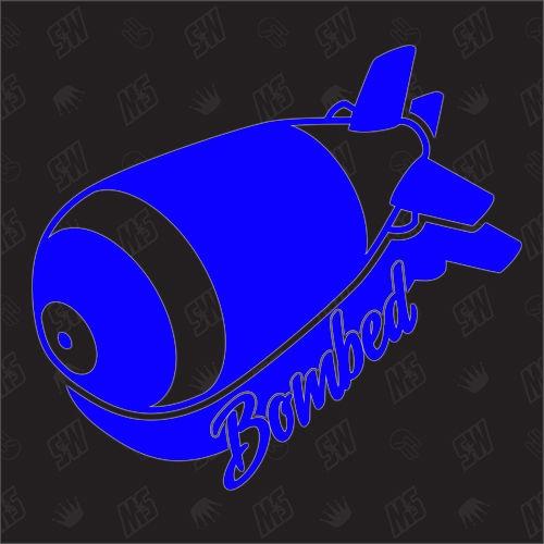 Bombed - Sticker