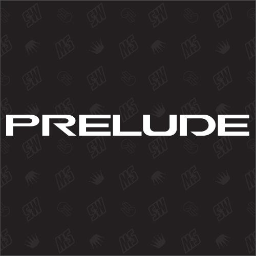 Honda PRELUDE Schriftzug Variation 1 - Sticker