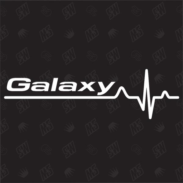 Ford Galaxy Herzschlag - Sticker