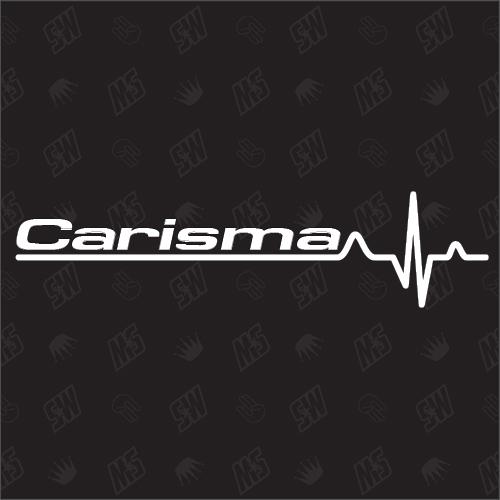 Mitsubishi Carisma Herzschlag - Sticker