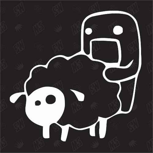 Domo - Kun poppt Schaf - Sticker