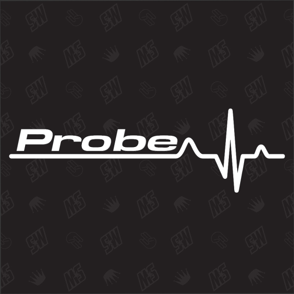 Ford Probe Herzschlag - Sticker