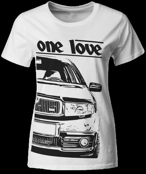 one love - T-Shirt - Skoda Fabia 6Y RS