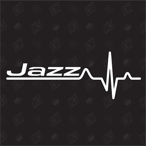 Honda Jazz Herzschlag - Sticker