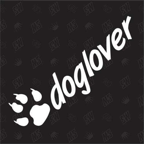 Doglover - Sticker, Hundesticker