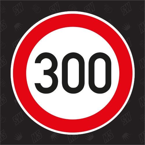300 km/h - Sticker
