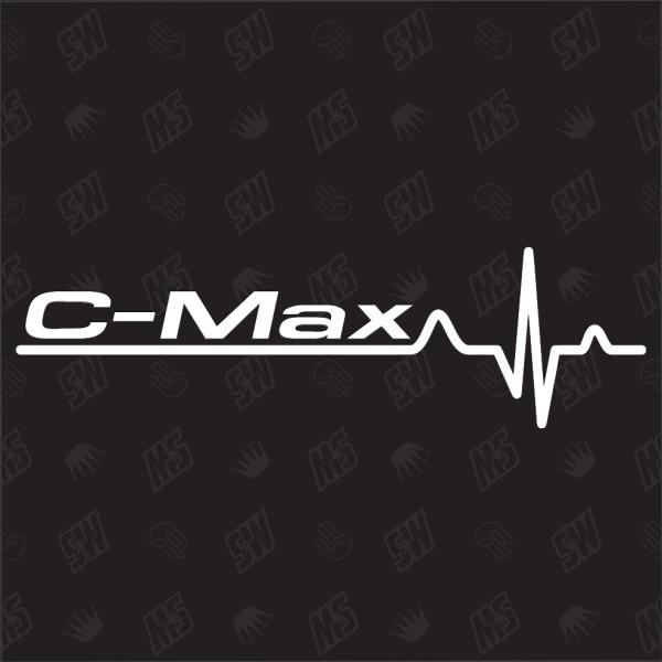 Ford C-Max Herzschlag - Sticker