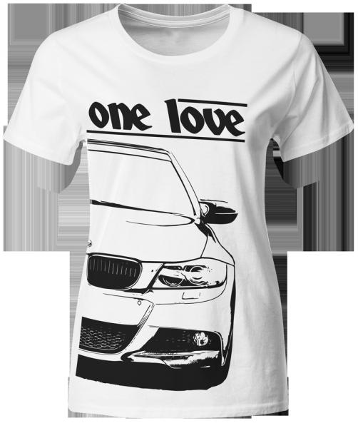 one love - T-Shirt - BMW E91