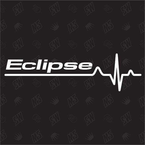 Mitsubishi Eclipse Herzschlag - Sticker