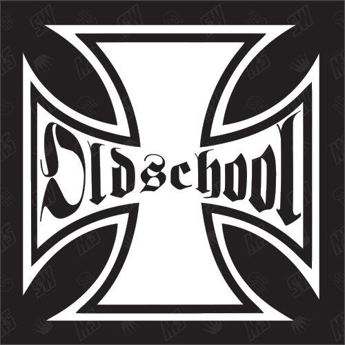 Eisernes Kreuz Oldschool Sticker