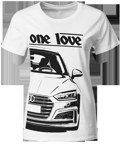 one love - T-Shirt -Audi S5 F5