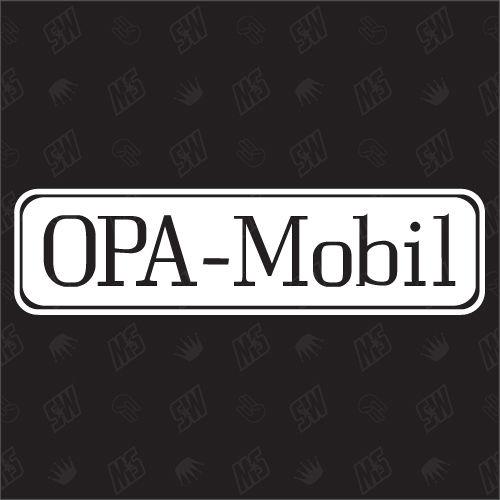 Opa Mobil - Sticker