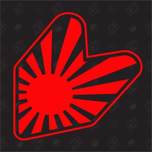 JDM Japan Flagge - Sticker