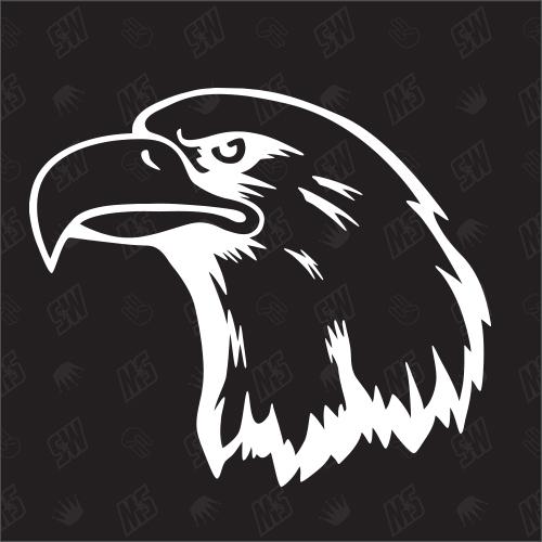 Adler - Sticker, Kopf
