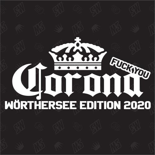 Fuck You Corona Wörthersee Edition 2020 - Sticker