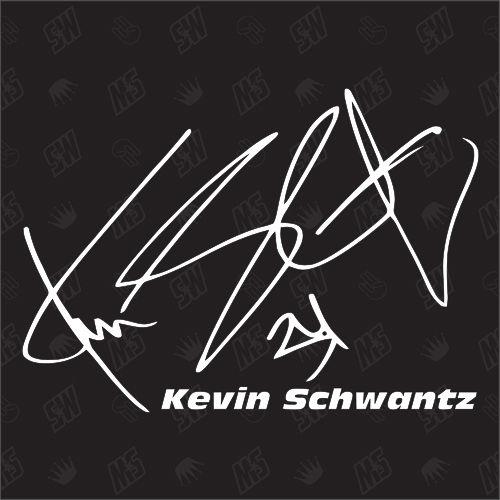 Kevin Schwantz Autogramm - Moto GP Sticker