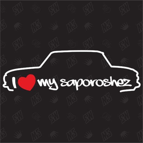 I love my Saporoshez 968 - Sticker